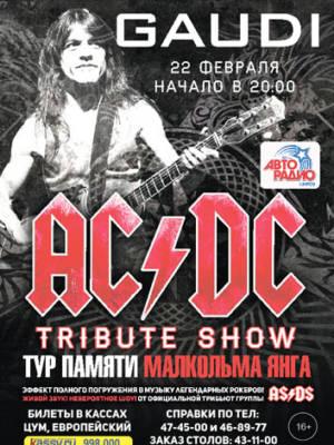 «MEGA LIVE TRIBUTE SHOW AC/DC»
