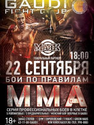 «БОИ ПО ПРАВИЛАМ MMA»